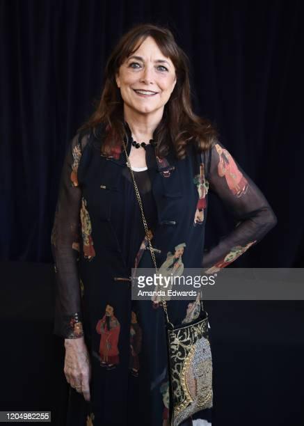 Actress Karen Allen attends the 2020 Film Independent Spirit Awards on February 08, 2020 in Santa Monica, California.