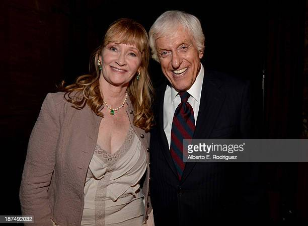 Actress Karen Dotrice and actor Dick Van Dyke attend the 50th anniversary commemoration screening of Disney's Mary Poppins during AFI FEST 2013...