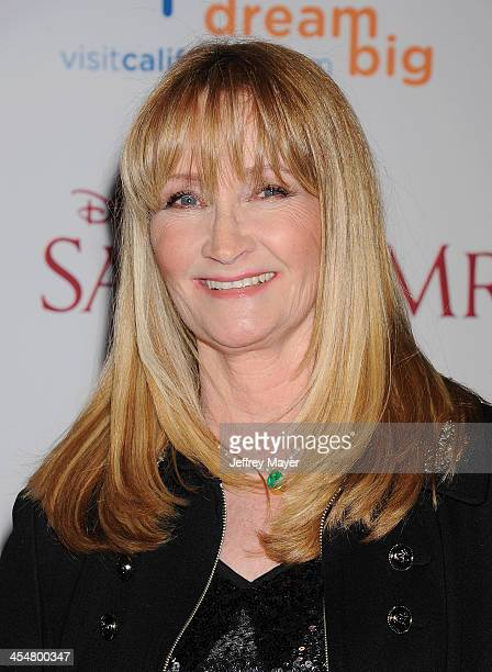 Actress Karen Dotrice arrives at the 'Saving Mr Banks' Los Angeles Premiere at Walt Disney Studios on December 9 2013 in Burbank California