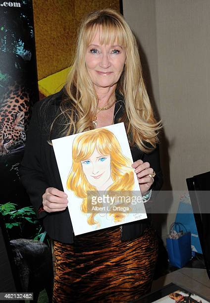 Actress Karen Dotrice at The Hollywood Show held at The Westin Hotel LAX on January 24 2015 in Los Angeles California