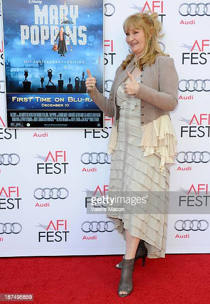 Actress Karen Dotrice attends the 50th anniversary commemoration screening of Disney's Mary Poppins during AFI FEST 2013 presented by Audi at TCL...