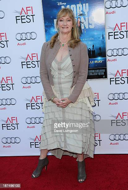 Actress Karen Dotrice attends the AFI FEST 2013 presented by Audi 50th Anniversary Commemoration Screening of Disney's Mary Poppins at the TCL...