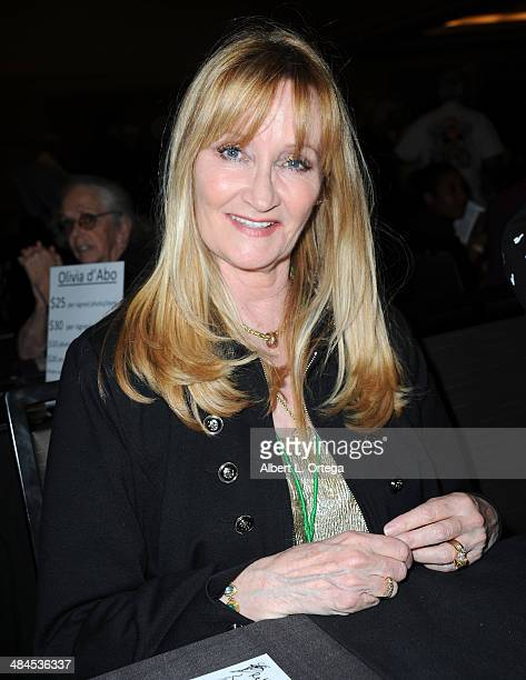 Actress Karen Dotrice attends The Hollywood Show 2014 held at Westin LAX Hotel on April 12 2014 in Los Angeles California