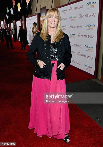 Actress Karen Dotrice attends the US Premiere Of Disney's Saving Mr Banks at Walt Disney Studios on December 9 2013 in Burbank California