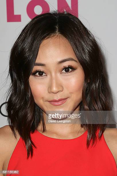 Actress Karen Fukuhara arrives at NYLON and BCBGeneration's Annual Young Hollywood May Issue Event at HYDE Sunset Kitchen Cocktails on May 12 2016 in...