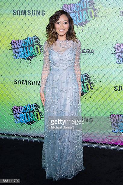"Actress Karen Fukuhara attends the ""Suicide Squad"" world premiere at The Beacon Theatre on August 1, 2016 in New York City."