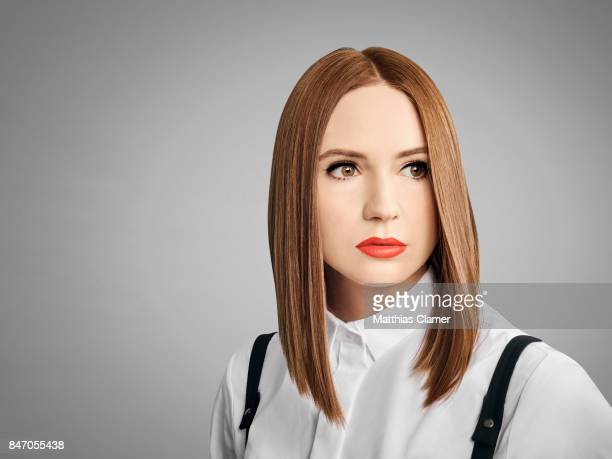 Actress Karen Gillan from 'Guardians of the Galaxy Vol 2' is photographed for Entertainment Weekly Magazine on July 23 2016 at Comic Con in the Hard...