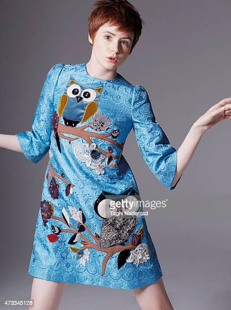 Actress Karen Gillan is photographed for InStyle Magazine UK on May 5 2014 in New York City PUBLISHED IMAGE
