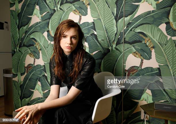 Actress Karen Gillan is photographed for Los Angeles Times on April 9, 2018 in New York City. PUBLISHED IMAGE. CREDIT MUST READ: Carolyn Cole/Los...