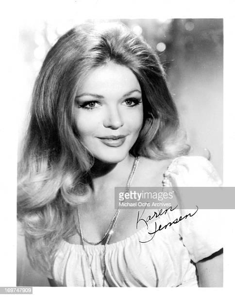 Actress Karen Jensen poses for a portrait in circa 1969