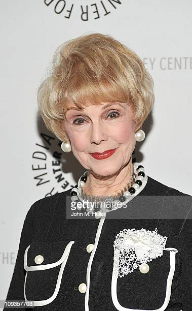 Actress Karen Kraamer attends the best of Rowan Martin's Laugh In at the Paley Center For Media on February 22 2011 in Beverly Hills California
