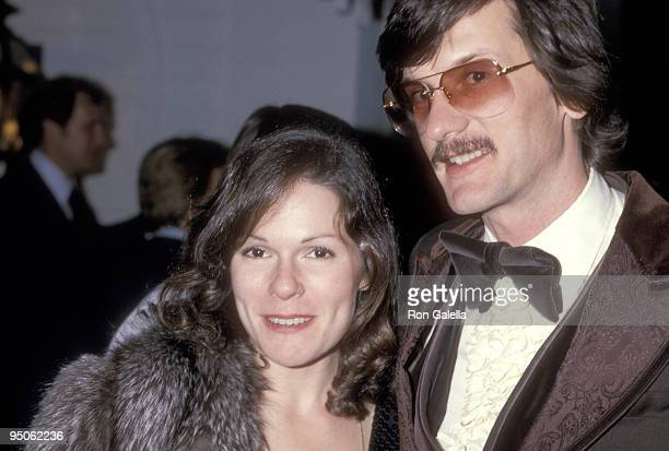 Actress Karen Lynn Gorney and director John Badham attend the Fourth Annual People's Choice Awards After Party on February 20 1978 at Chasen's...