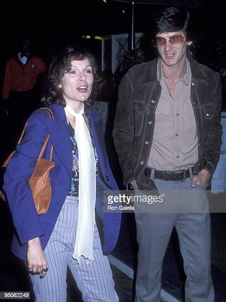 Actress Karen Lynn Gorney and director John Batham attend the Easter Seal Society's PreTelethon Disco Party on March 19 1978 at the El Privado in...