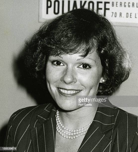Actress Karen Lynn Gorney attends the opening party for Peter Allen Up In One on October 2 1979 at the Bistro Restaurant in Beverly Hills California