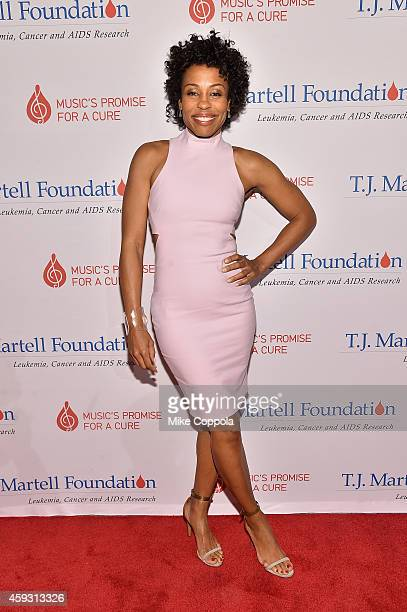 Actress Karen Pittman attends the TJ Martell Foundation's 11th annual New York World Tour of Wine on November 20 2014 in New York City