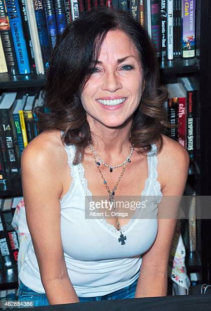 Actress Karen Russell at the Second Annual David DeCoteau's Day Of The Scream Queens held at Dark Delicacies Bookstore on January 25, 2015 in...