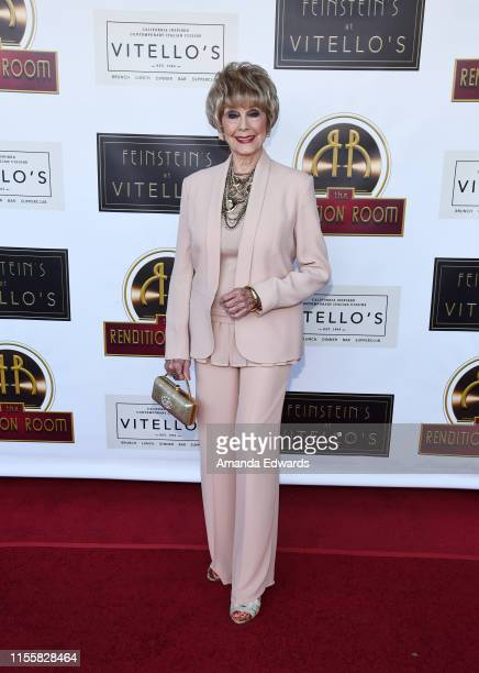 Actress Karen Sharpe arrives at the debut of the Southern California location of Michael Feinstein's new supper club Feinstein's at Vitello's on June...