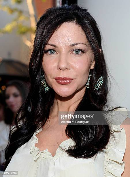 Actress Karen Trella arrives at the premiere of IndustryWorks' The Perfect Game on April 5 2010 in Los Angeles California