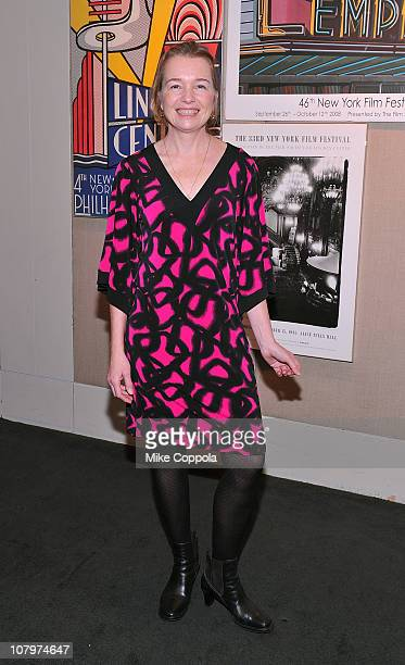 Actress Karen Young attends a sneak preview of Twelve Thirty presented by the Film Society of Lincoln Center at Walter Reade Theater on January 10...