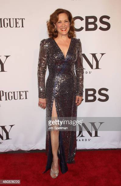 Actress Karen Ziemba attends American Theatre Wing's 68th Annual Tony Awards at Radio City Music Hall on June 8 2014 in New York City