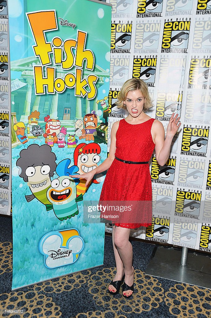 Actress Kari Wahlgren attends Disney's 'Phineas And Ferb' 'Gravity Falls' and 'Fish Hooks' Press Room during Comic-Con International 2012 at Hilton San Diego Bayfront Hotel on July 14, 2012 in San Diego, California.