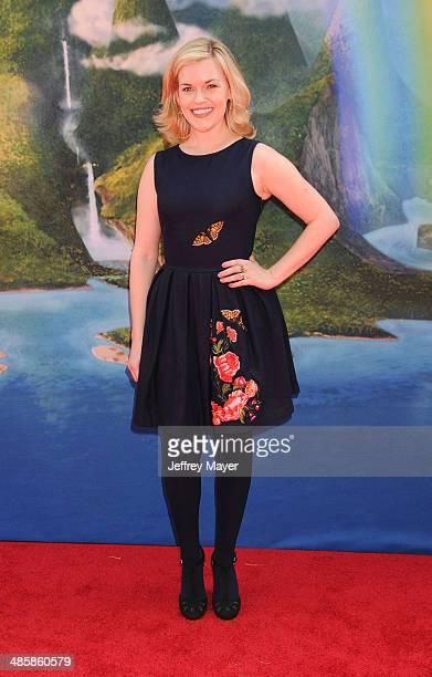Actress Kari Wahlgren attends the premiere of DisneyToon Studios' 'The Pirate Fairy' at Walt Disney Studios on March 22, 2014 in Burbank, California.