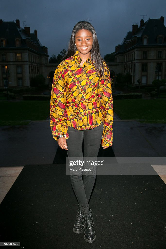 Actress Karidja Toure attends NikeLab X Olivier Rousteing Football Nouveau Collection Launch Party at Cite Universitaire on June 1, 2016 in Paris, France.