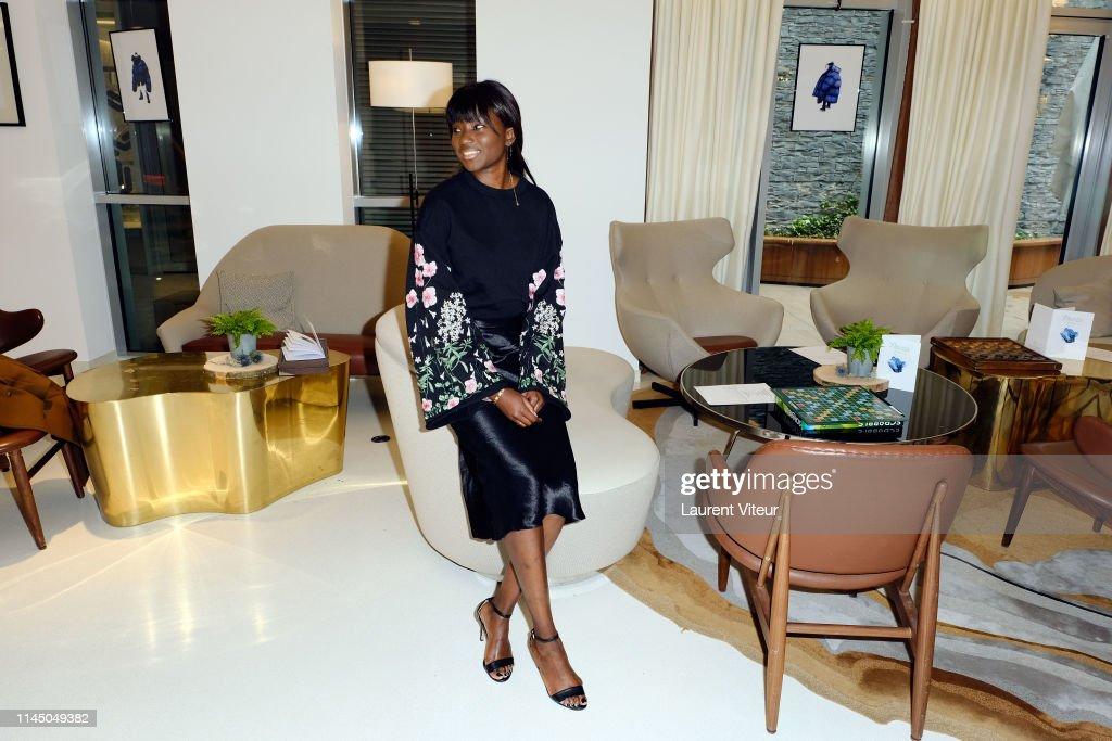 FRA: Actress Aissa Maiga Hosts A Lunch At Hotel Renaissance Paris Republique