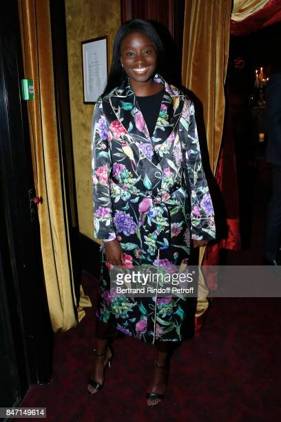 Actress Karidja Toure attends the Reopening of the Hotel Barriere Le Fouquet's Paris decorated by Jacques Garcia at Hotel Barriere Le Fouquet's Paris...