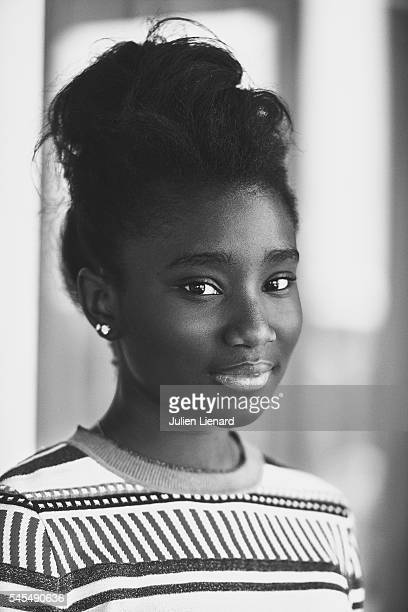 Actress Karidja Toure is photographed for Self Assignment on June 11 2016 in Cabourg France