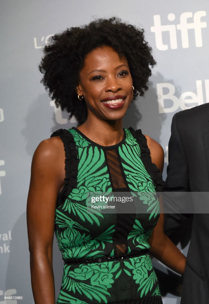 Actress Karimah Westbrook attends the 'Suburbicon' press conference during the 2017 Toronto International Film Festival at TIFF Bell Lightbox on September 10, 2017 in Toronto, Canada.