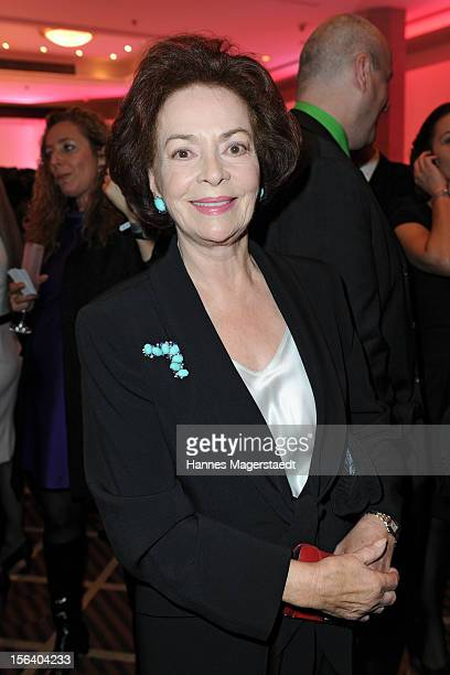 Actress Karin Dor attends the Video Entertainment Award 2012 at the Westin Grand Hotel on November 14 2012 in Munich Germany