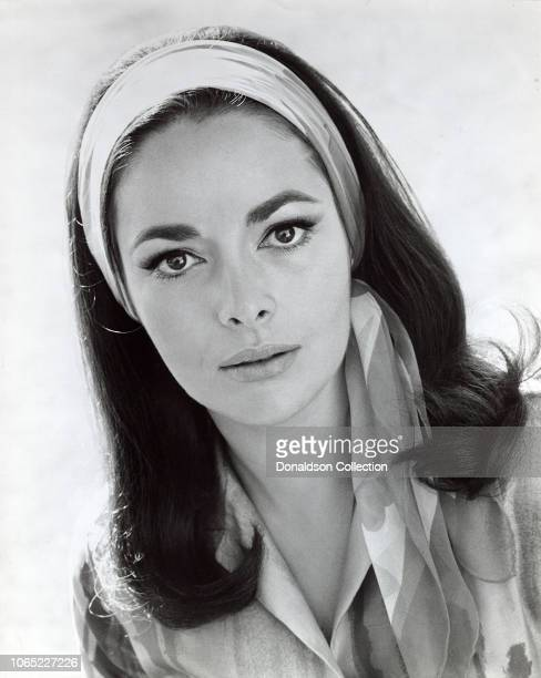 Actress Karin Dor in a scene from the movie Topaz