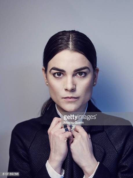 Actress Karin Franz Korlof is photographed for Self Assignment on February 15 2016 in Berlin Germany