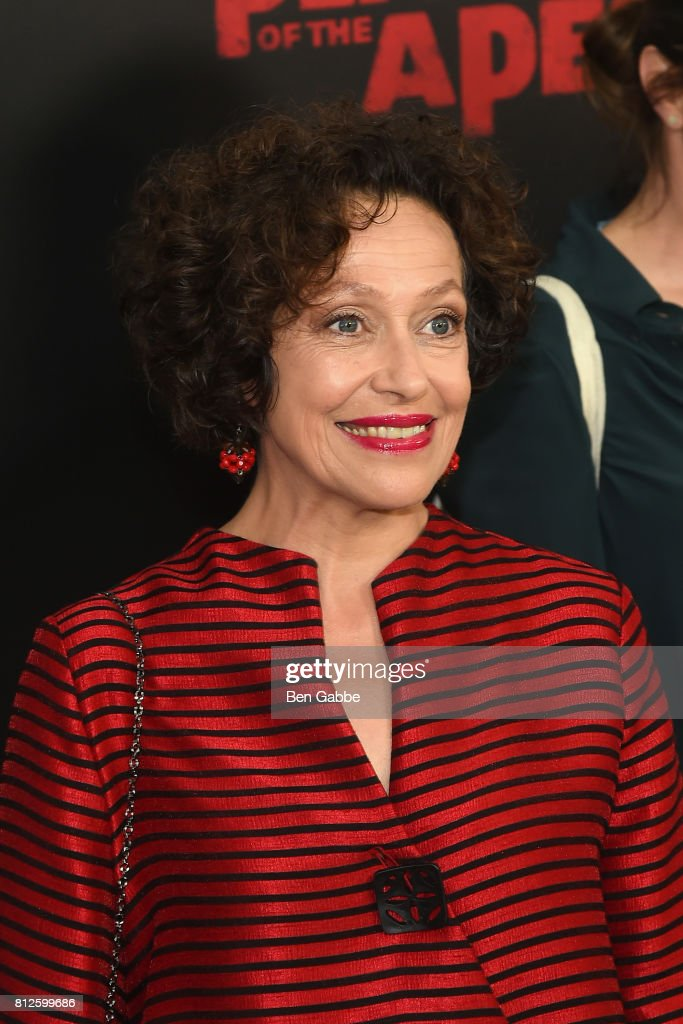 Actress Karin Konoval attends the 'War for the Planet Of The Apes' New York Premiere at SVA Theater on July 10, 2017 in New York City.