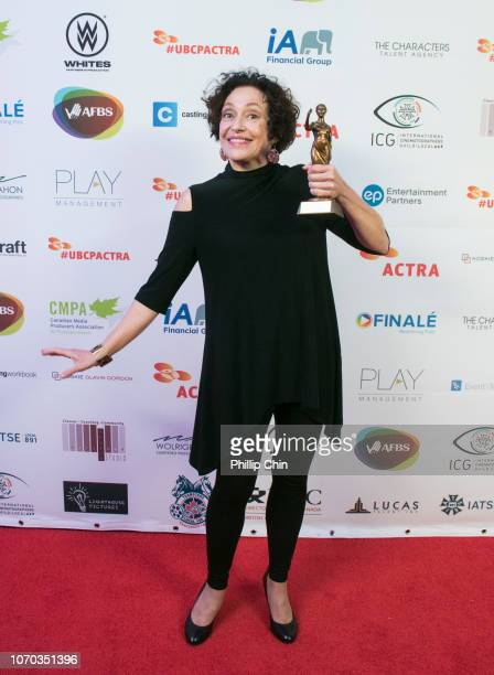 Actress Karin Konoval received the Best Actress Award for The XFiles at the 7th annual UBCP/ACTRA Awards Gala at the Vancouver Playhouse on December...