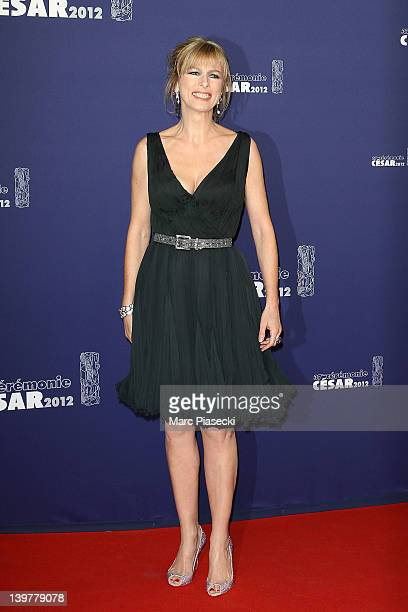 Actress Karin Viard attends the 37th Cesar Film Awards at Theatre du Chatelet on February 24 2012 in Paris France