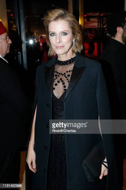 Actress Karin Viard attends the Cesar Film Awards 2019 at Salle Pleyel on February 22 2019 in Paris France