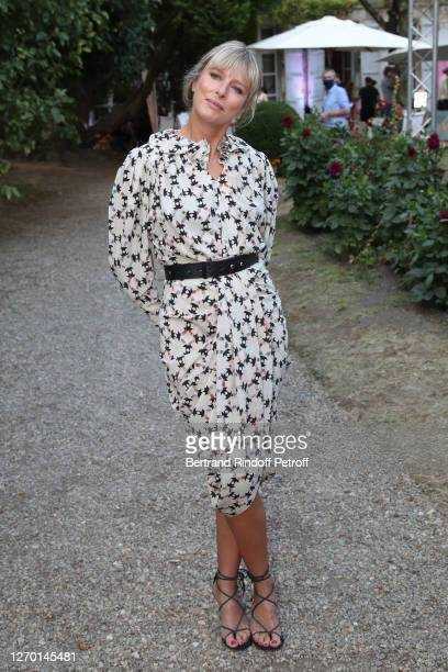 Actress Karin Viard attends the Les Apparences Photocall at 13th Angouleme FrenchSpeaking Film Festival on September 01 2020 in Angouleme France