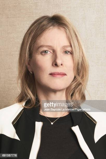 Actress Karin Viard is photographed for Madame Figaro on September 27, 2015 in Paris, France. PUBLISHED IMAGE. CREDIT MUST READ: Jean Baptiste Le...