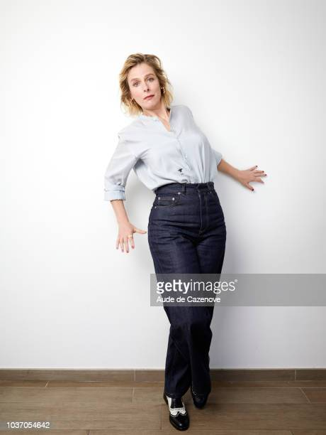 Actress Karin Viard is photographed for Self Assignment, on May, 2018 in Cannes, France. . .