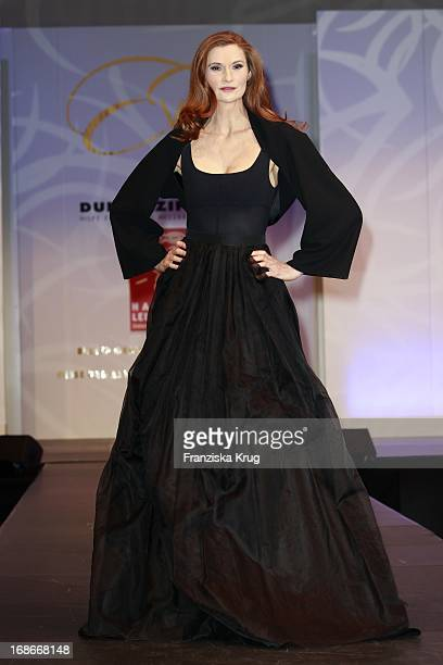 Actress Karina Krawczyk at The Event Prominent fashion show at the Grand Elysée in Hamburg