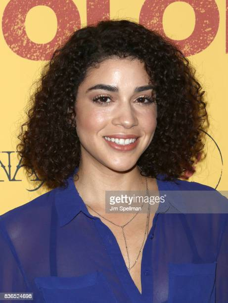 Actress Karina Ortiz attends the 'Dolores' New York premiere at The Metrograph on August 21 2017 in New York City