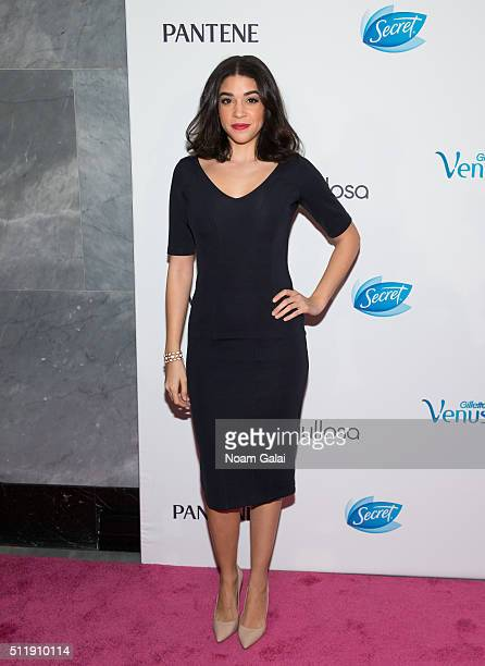 Actress Karina Ortiz attends the Orgullosa #LivingFabulosa event at The Paley Center for Media on February 23, 2016 in New York City.