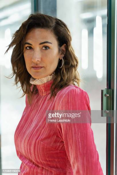 Actress Karine GonthierHyndman poses for a portrait on February 25 2020 in Berlin Germany