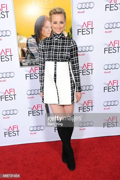 KARINE VANASSE at Mommy Screening at AFI Fest 2014 in