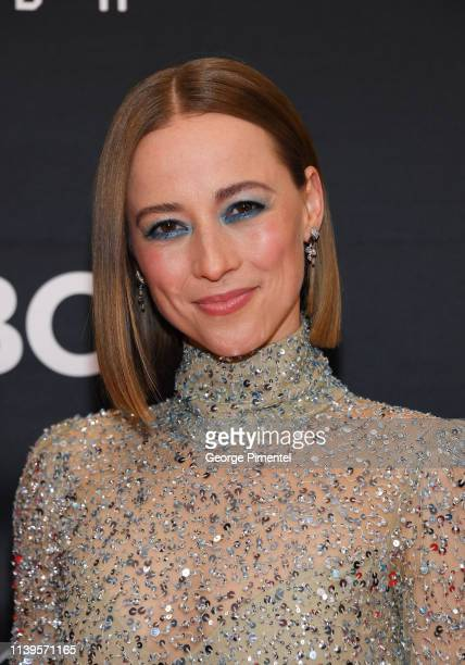 Actress Karine Vanasse attends the 2019 Canadian Screen Awards Broadcast Gala at Sony Centre for the Performing Arts on March 31 2019 in Toronto...