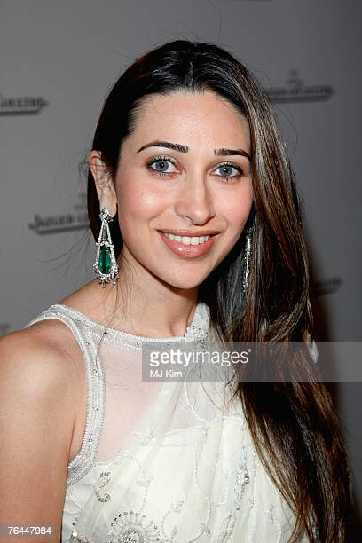Actress Karisma Kapoor attends the Jaeger Le Coultre Host Celebration Party in Venice during day 3 of the 64th Venice Film Festival on August 31 2007...