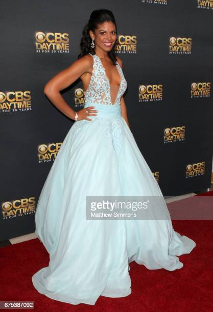 Actress Karla Cheatham Mosley attends the CBS Daytime Emmy after party at Pasadena Civic Auditorium on April 30 2017 in Pasadena California