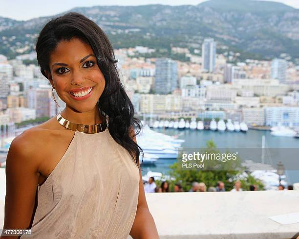Actress Karla CheathamMosley from the TV series 'The Bold and The Beautiful' attends the 55th Monte Carlo TV Festival Day 3 on June 15 2015 in...